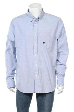 Ανδρικό πουκάμισο Abercrombie & Fitch, Μέγεθος XXL, Χρώμα Μπλέ, 98% βαμβάκι, 2% ελαστάνη, Τιμή 53,26€