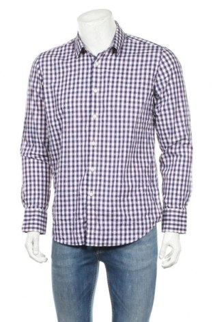 Ανδρικό πουκάμισο Bossini, Μέγεθος L, Χρώμα Πολύχρωμο, Βαμβάκι, Τιμή 6,17€