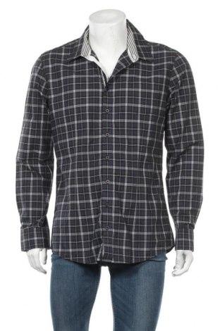 Ανδρικό πουκάμισο Bossini, Μέγεθος XL, Χρώμα Μπλέ, Βαμβάκι, Τιμή 4,94€