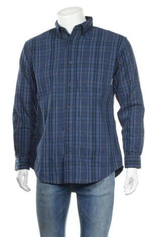Ανδρικό πουκάμισο Columbia, Μέγεθος L, Χρώμα Μπλέ, 65% πολυεστέρας, 35% βαμβάκι, Τιμή 17,54€