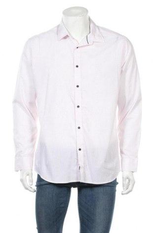 Ανδρικό πουκάμισο Connor, Μέγεθος L, Χρώμα Λευκό, 62% πολυεστέρας, 38% βαμβάκι, Τιμή 9,38€