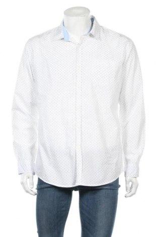 Ανδρικό πουκάμισο Connor, Μέγεθος L, Χρώμα Λευκό, Βαμβάκι, Τιμή 8,83€
