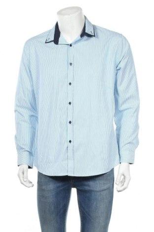 Ανδρικό πουκάμισο Connor, Μέγεθος L, Χρώμα Λευκό, 50% βαμβάκι, 50% πολυεστέρας, Τιμή 10,52€