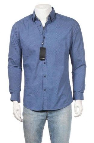 Ανδρικό πουκάμισο Connor, Μέγεθος M, Χρώμα Μπλέ, Βαμβάκι, Τιμή 22,21€