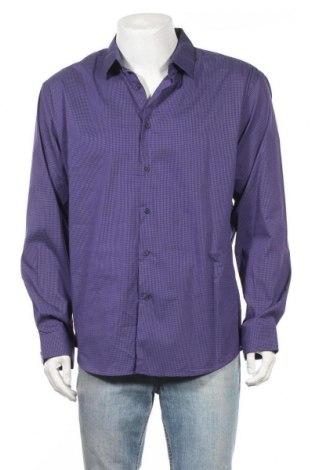 Ανδρικό πουκάμισο Connor, Μέγεθος XL, Χρώμα Βιολετί, 64% βαμβάκι, 33% πολυαμίδη, 3% ελαστάνη, Τιμή 20,78€