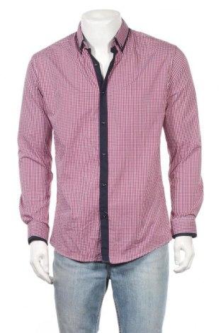 Ανδρικό πουκάμισο Connor, Μέγεθος S, Χρώμα Μπλέ, 70% βαμβάκι, 27% πολυαμίδη, 3% ελαστάνη, Τιμή 11,69€