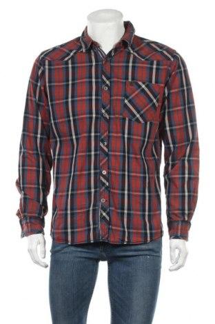 Ανδρικό πουκάμισο Gin Tonic, Μέγεθος L, Χρώμα Πολύχρωμο, Βαμβάκι, Τιμή 5,71€