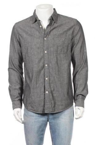 Мъжка риза Handsom, Размер M, Цвят Сив, Цена 6,62лв.