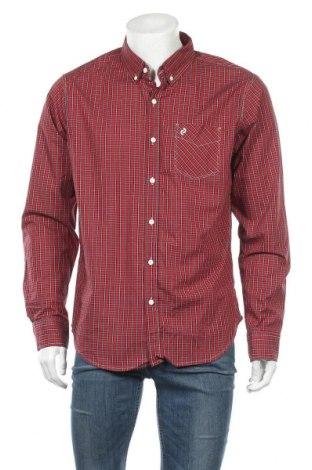 Мъжка риза Denizen from Levi's, Размер L, Цвят Червен, Памук, Цена 20,79лв.
