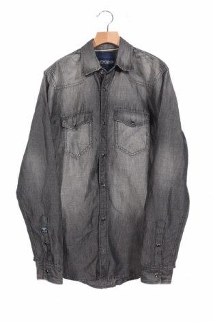 Ανδρικό πουκάμισο Mavi, Μέγεθος XS, Χρώμα Γκρί, 60% βαμβάκι, 40% λινό, Τιμή 8,77€