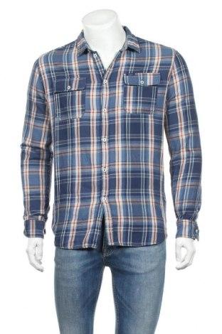 Ανδρικό πουκάμισο Pepe Jeans, Μέγεθος S, Χρώμα Μπλέ, Βαμβάκι, Τιμή 12,53€