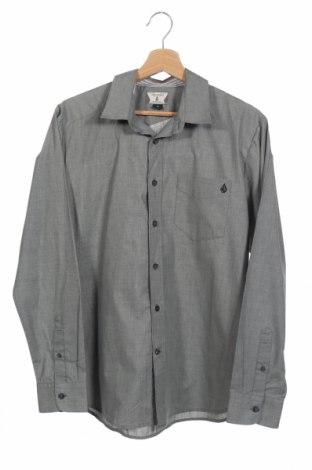Ανδρικό πουκάμισο Volcom, Μέγεθος S, Χρώμα Γκρί, 65% πολυεστέρας, 35% βαμβάκι, Τιμή 13,16€