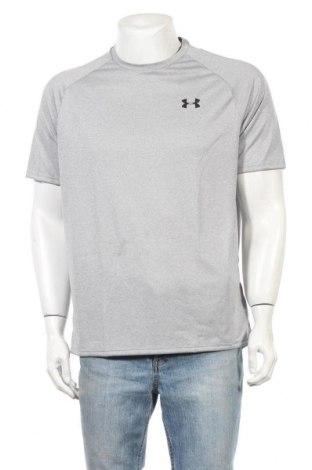 Ανδρικό t-shirt Under Armour, Μέγεθος L, Χρώμα Γκρί, Πολυεστέρας, Τιμή 22,81€