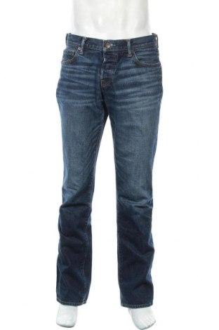 Ανδρικό τζίν Abercrombie & Fitch, Μέγεθος L, Χρώμα Μπλέ, Βαμβάκι, Τιμή 23,45€