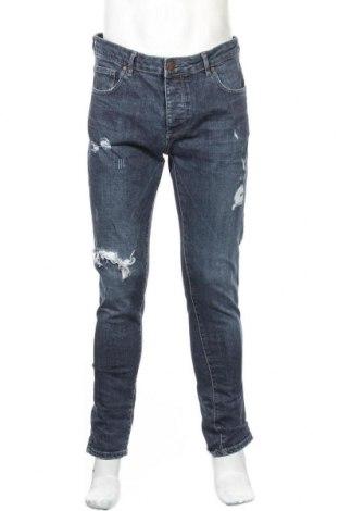 Мъжки дънки Denim Co, Размер L, Цвят Син, 99% памук, 1% еластан, Цена 24,94лв.