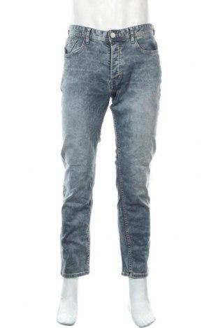 Мъжки дънки Denim Co, Размер M, Цвят Син, 98% памук, 2% еластан, Цена 23,10лв.