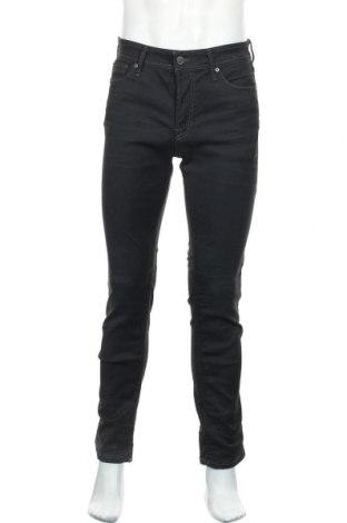 Мъжки дънки Jack & Jones, Размер S, Цвят Син, 97% памук, 3% еластан, Цена 29,50лв.