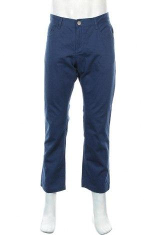 Ανδρικό παντελόνι Livergy, Μέγεθος L, Χρώμα Μπλέ, Βαμβάκι, Τιμή 14,19€