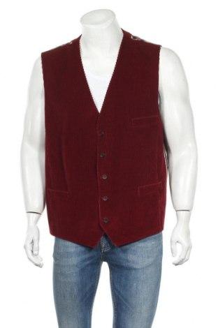 Ανδρικό γιλέκο Barutti, Μέγεθος XL, Χρώμα Κόκκινο, Τιμή 16,37€