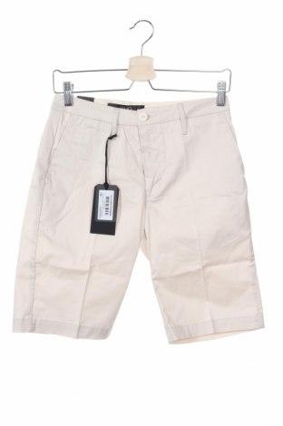 Pantaloni scurți de bărbați Liu Jo, Mărime XS, Culoare Bej, 98% bumbac, 2% elastan, Preț 72,37 Lei