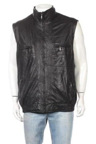 Ανδρικό δερμάτινο γιλέκο Walbusch, Μέγεθος XL, Χρώμα Μαύρο, Γνήσιο δέρμα, Τιμή 25,92€