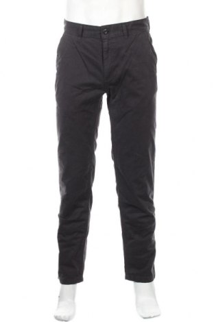 Ανδρικό παντελόνι, Μέγεθος M, Χρώμα Γκρί, Βαμβάκι, Τιμή 10,97€