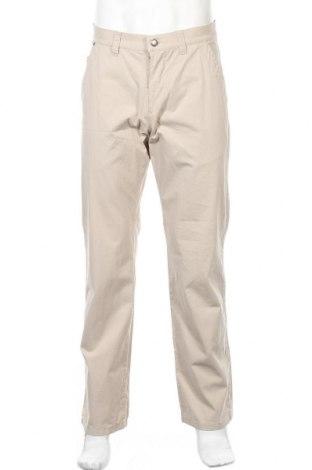 Ανδρικό παντελόνι Alberto, Μέγεθος M, Χρώμα  Μπέζ, 97% βαμβάκι, 3% ελαστάνη, Τιμή 4,48€