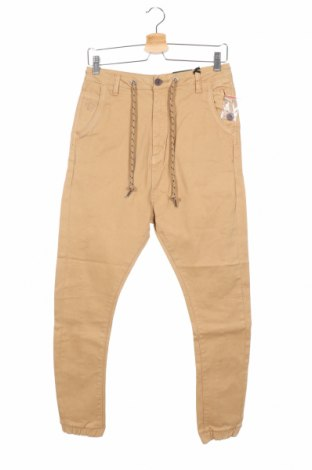 Ανδρικό παντελόνι Alcott, Μέγεθος S, Χρώμα  Μπέζ, 98% βαμβάκι, 2% ελαστάνη, Τιμή 18,54€