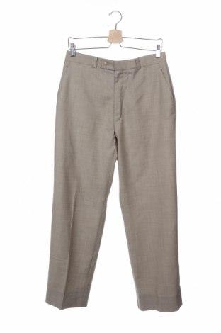 Мъжки панталон Calvin Klein, Размер S, Цвят Бежов, Вълна, Цена 66,14лв.