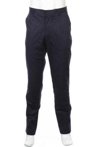 Ανδρικό παντελόνι Connor, Μέγεθος L, Χρώμα Μπλέ, 98% βαμβάκι, 2% ελαστάνη, Τιμή 27,48€