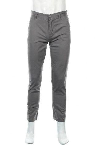 Мъжки панталон Denim&Co., Размер S, Цвят Сив, 100% памук, Цена 14,01лв.