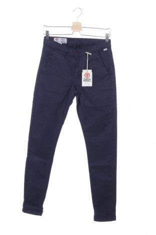 Мъжки панталон Franklin & Marshall, Размер S, Цвят Син, 98% памук, 2% еластан, Цена 51,75лв.