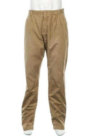 Ανδρικό παντελόνι Knowledge Cotton Apparel, Μέγεθος M, Χρώμα  Μπέζ, Βαμβάκι, Τιμή 16,37€