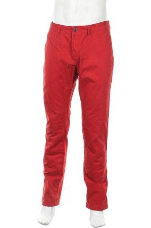 Ανδρικό παντελόνι Livergy, Μέγεθος L, Χρώμα Κόκκινο, Βαμβάκι, Τιμή 11,05€