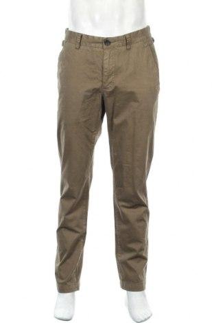 Мъжки панталон Peckott, Размер L, Цвят Зелен, Памук, Цена 23,94лв.