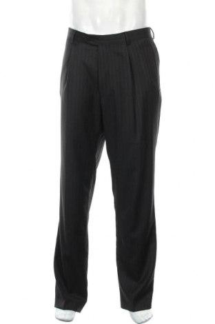 Ανδρικό παντελόνι Sarar, Μέγεθος L, Χρώμα Μαύρο, Μαλλί, Τιμή 16,66€