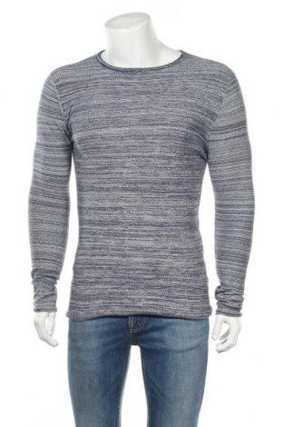 Ανδρικό πουλόβερ Connor, Μέγεθος S, Χρώμα Μπλέ, Βαμβάκι, Τιμή 15,20€