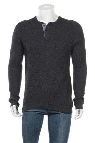 Ανδρικό πουλόβερ Connor, Μέγεθος L, Χρώμα Μπλέ, Βαμβάκι, Τιμή 26,89€