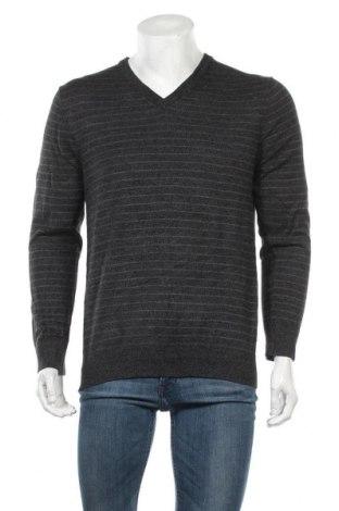 Ανδρικό πουλόβερ DKNY Jeans, Μέγεθος L, Χρώμα Γκρί, 60% βαμβάκι, 40% βισκόζη, Τιμή 30,39€