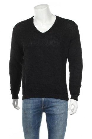 Ανδρικό πουλόβερ Kuna, Μέγεθος S, Χρώμα Μαύρο, Μαλλί από αλπακά, Τιμή 16,37€
