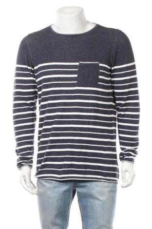 Ανδρικό πουλόβερ Livergy, Μέγεθος L, Χρώμα Μπλέ, Βαμβάκι, Τιμή 8,29€