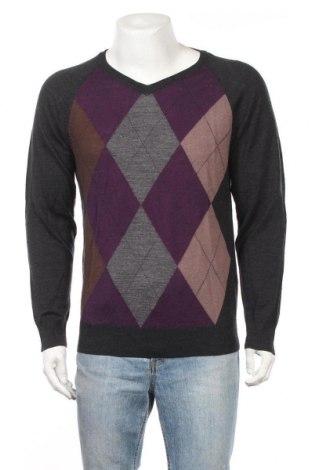 Ανδρικό πουλόβερ Livergy, Μέγεθος M, Χρώμα Πολύχρωμο, Μερινό, Τιμή 10,16€