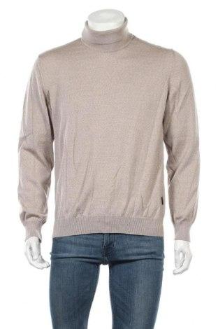 Ανδρικό πουλόβερ Maerz Muenchen, Μέγεθος L, Χρώμα  Μπέζ, Μαλλί, Τιμή 26,31€