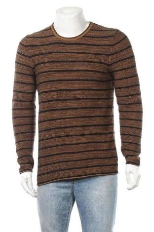 Ανδρικό πουλόβερ Yes Or No, Μέγεθος M, Χρώμα  Μπέζ, Βαμβάκι, Τιμή 11,69€