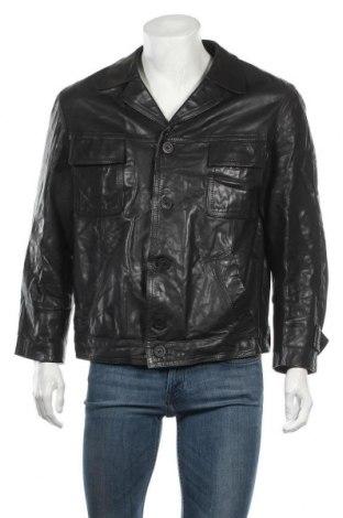 Pánská kožená bunda , Velikost XL, Barva Černá, Pravá kůže, Cena  259,00Kč
