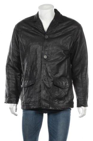 Мъжко кожено яке Danier, Размер XS, Цвят Черен, Естествена кожа, Цена 16,42лв.