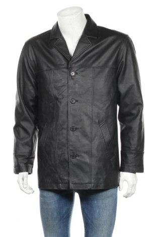 Pánská kožená bunda  Henry Morell, Velikost M, Barva Černá, Pravá kůže, Cena  536,00Kč