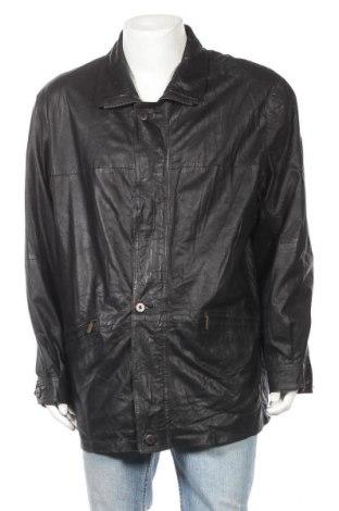 Мъжко кожено яке Maddox, Размер XL, Цвят Черен, Естествена кожа, Цена 17,16лв.