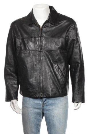 Ανδρικό δερμάτινο μπουφάν Mauritius, Μέγεθος XL, Χρώμα Μαύρο, Γνήσιο δέρμα, Τιμή 59,75€