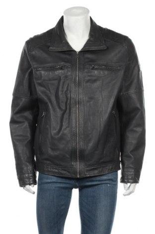 Ανδρικό δερμάτινο μπουφάν Otto Kern, Μέγεθος XXL, Χρώμα Μαύρο, Γνήσιο δέρμα, Τιμή 80,54€